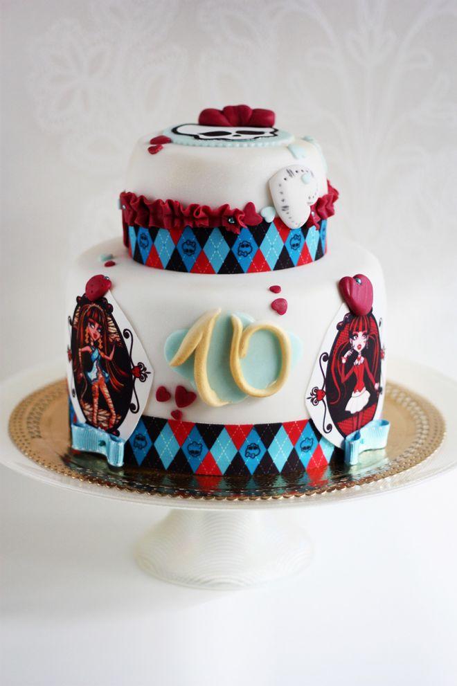 Детска торта за момиче Monster High