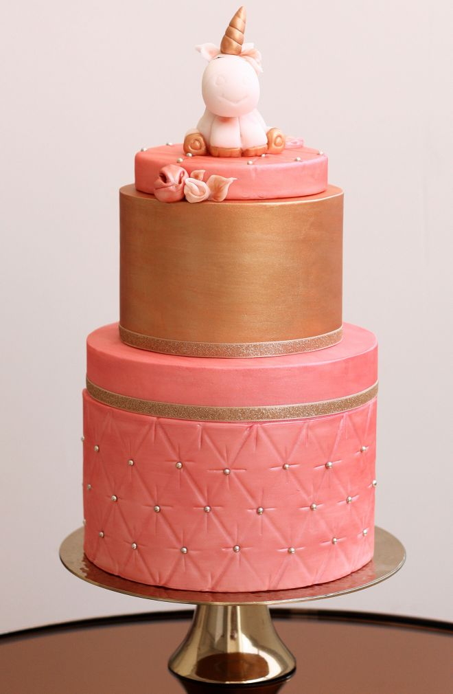 Детска торта за рожден ден с еднорог
