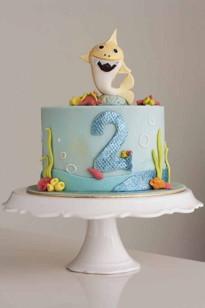 Торта за рожден ден baby shark