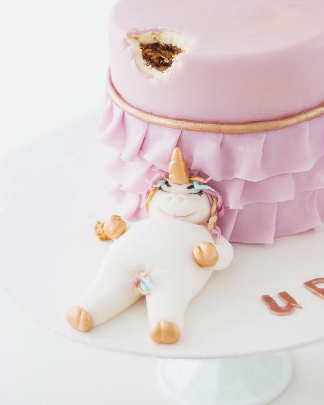 Торта за рожден ден с еднорог