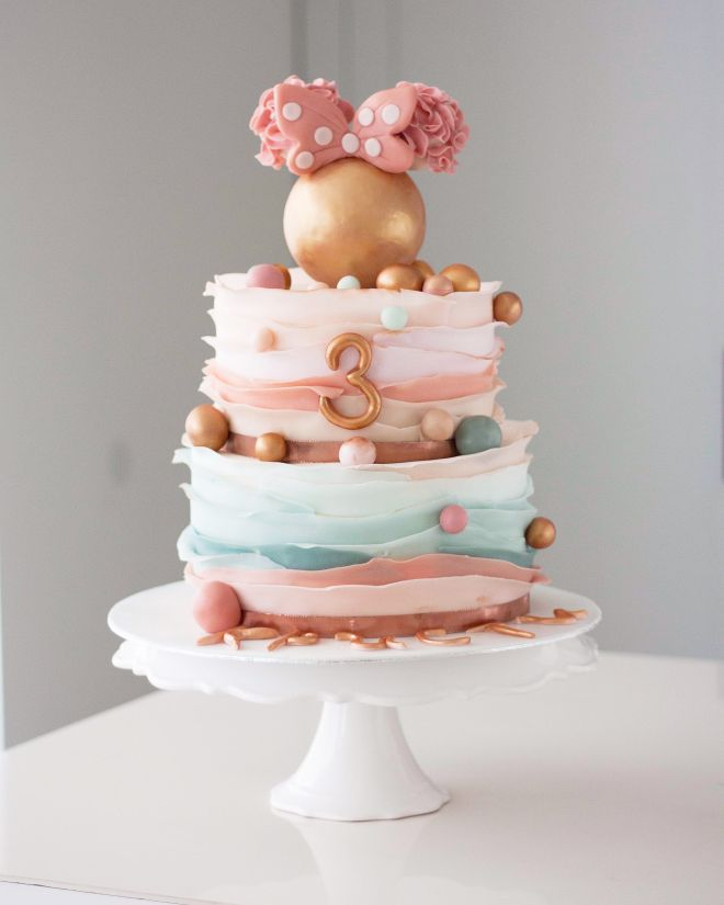 Торта за рожден ден мини Маус
