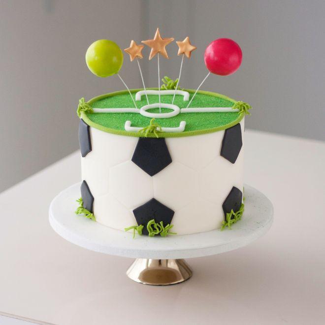 Торта за рожден ден футболна топка