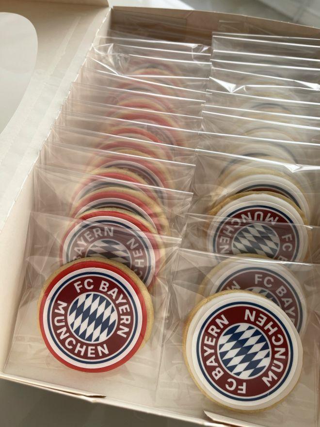Футболни сладки бисквити
