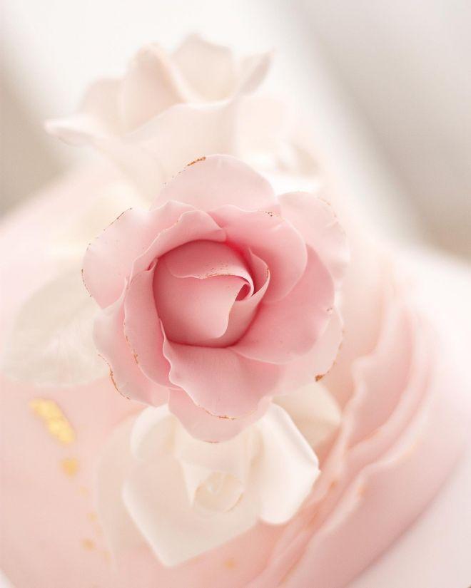 Торта за рожден ден с рози